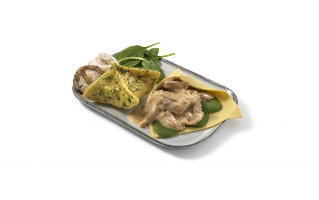 Chicken mushroom spinach