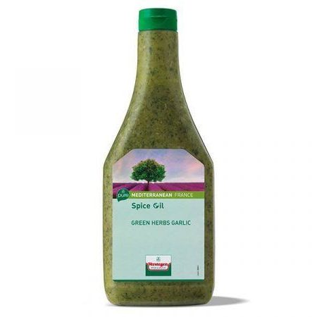 Spice oil Green Herbs Garlic 462610