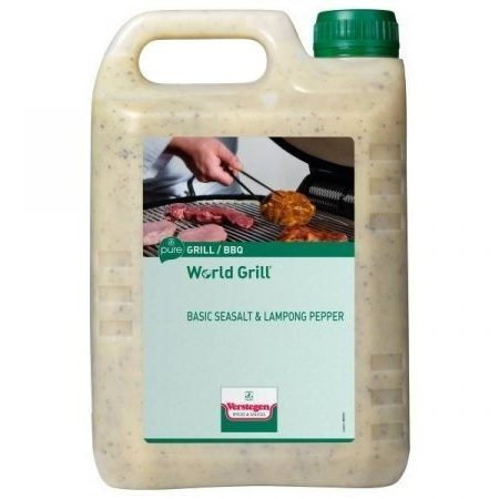 World Grill Basic Sea Salt & Lampong Pepper PURE